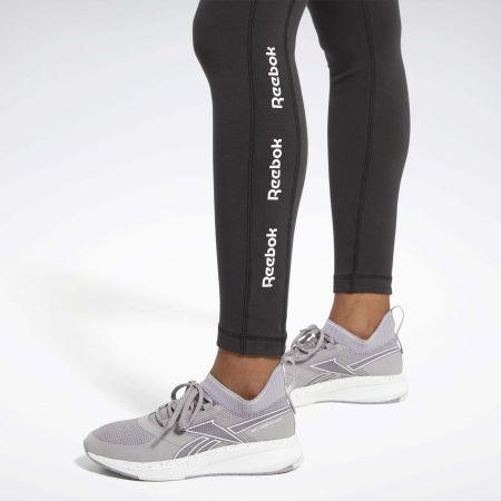 Women's tights - Reebok TE LINEAR LOGO CT LEGGING - 6
