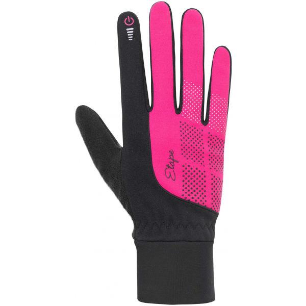 Etape SKIN WS+ růžová M - Dámské zimní rukavice