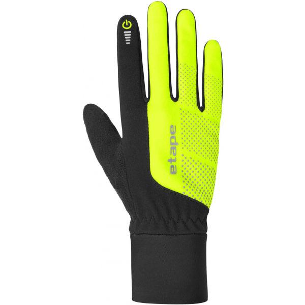 Etape SKIN WS+ žlutá M - Dámské zimní rukavice