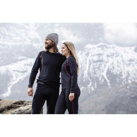 Wełniane spodnie termoaktywne męskie - Ulvang 50FIFTY 2.0 M - 4