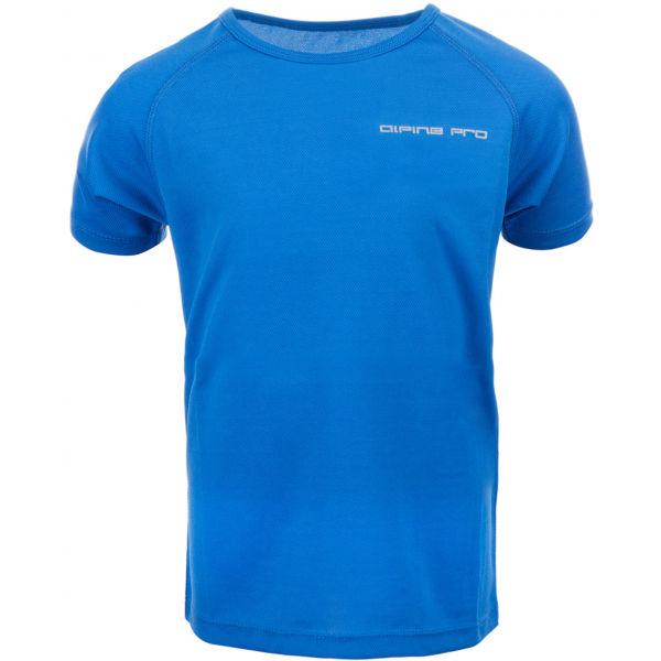 ALPINE PRO HONO modrá 140-146 - Detské tričko