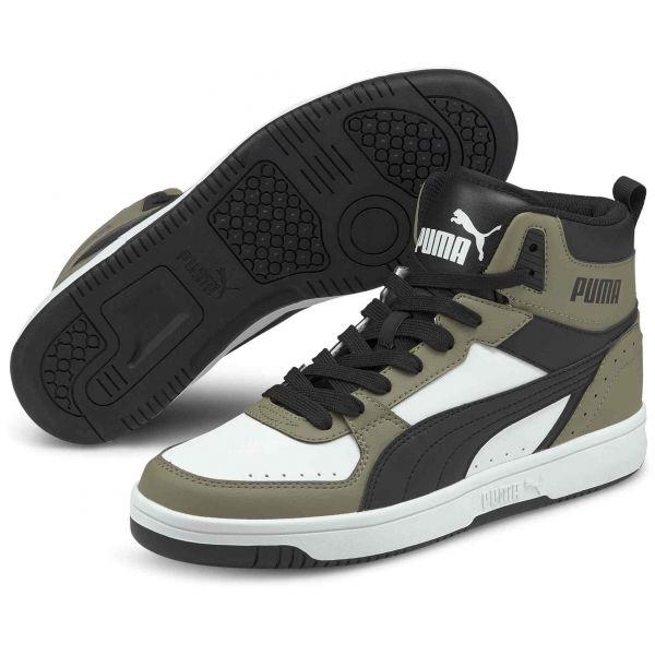 Puma REBOUND JOY bílá 7 - Pánská volnočasová obuv