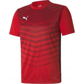 Puma FTBL PLAY GRAPHIC SHIRT - Pánské sportovní triko