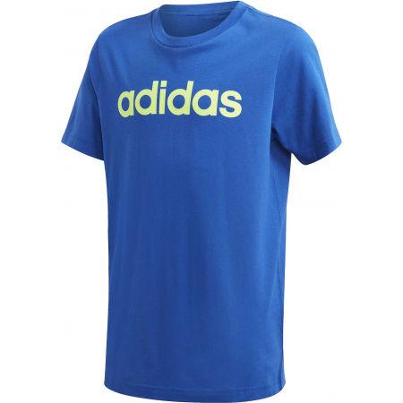 adidas YB E LIN TEE - Boys' T-shirt