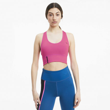 Women's sports bra - Puma MID IMPACT LONG LINE BRA - 3