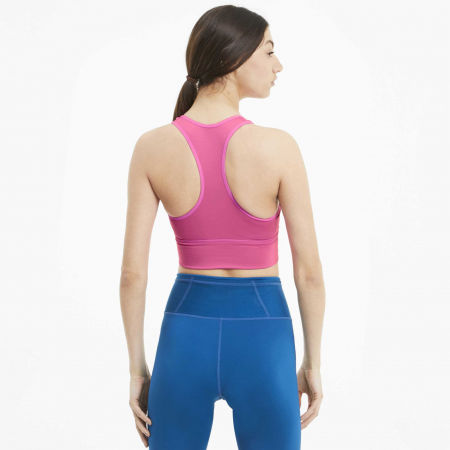 Women's sports bra - Puma MID IMPACT LONG LINE BRA - 4