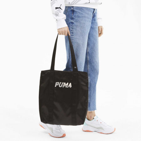 Women's handbag - Puma WMN CORE BASE SHOPPER - 4