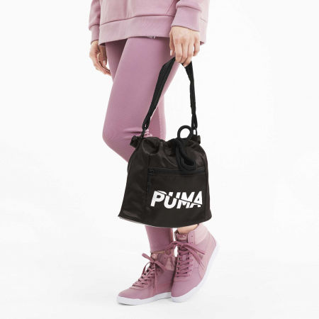 Torba sportowa damska - Puma WMN CORE BASE BUCKET BAG - 4