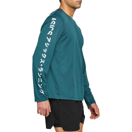 Men's T-Shirt - Asics KATAKANA LS TOP - 3