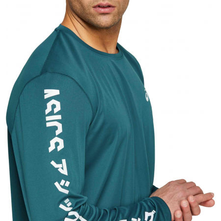 Men's T-Shirt - Asics KATAKANA LS TOP - 6