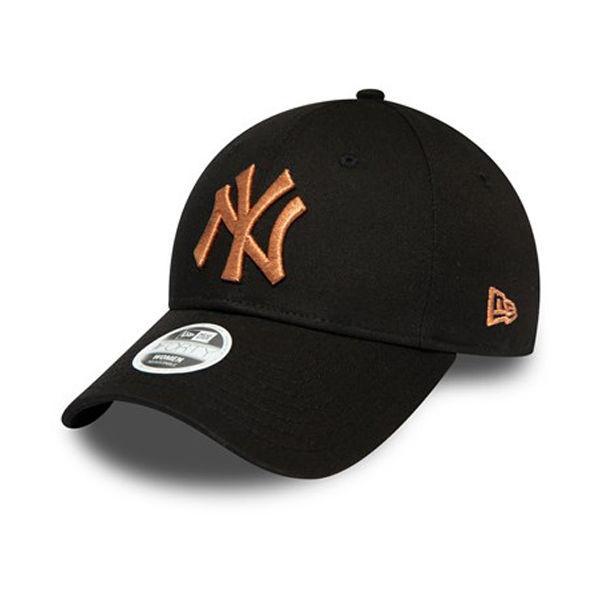 New Era 9FORTY MLB W DONNA NERO NEW YORK YANKEES - Dámska klubová šiltovka
