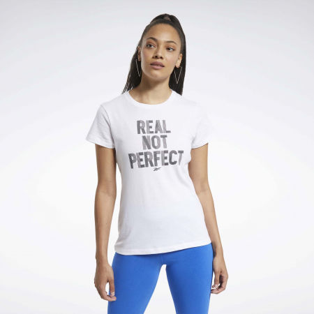 Women's T-shirt - Reebok TE GRAPHIC TEE REAL - 3