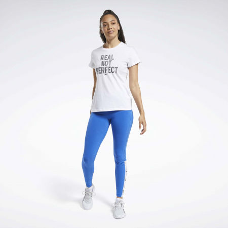 Dámske tričko - Reebok TE GRAPHIC TEE REAL - 4