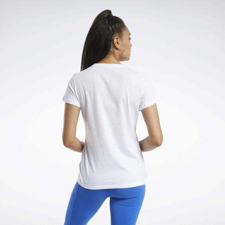 Women's T-shirt - Reebok TE GRAPHIC TEE REAL - 5