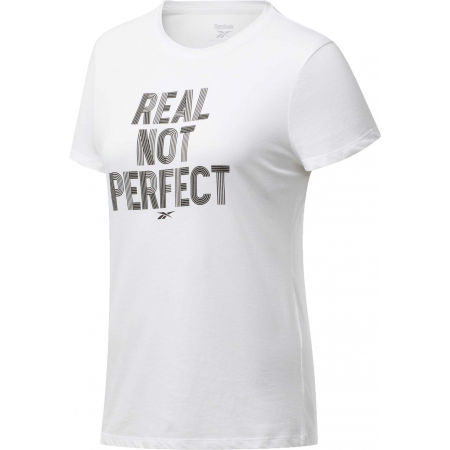 Reebok TE GRAPHIC TEE REAL - Dámské tričko