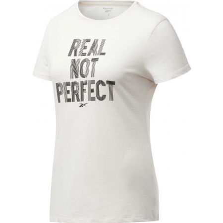 Reebok TE GRAPHIC TEE REAL - Women's T-shirt