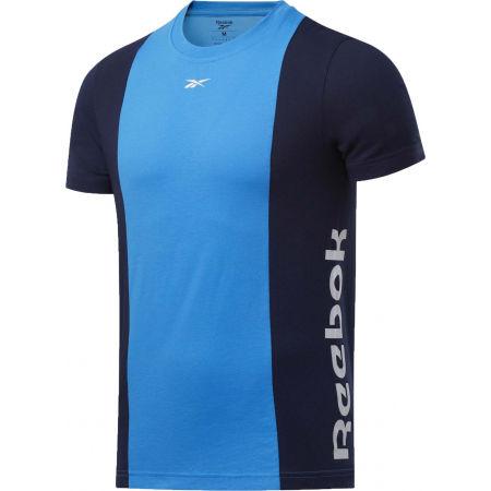 Reebok TE LL SS BLOCKED TEE - Мъжка тениска