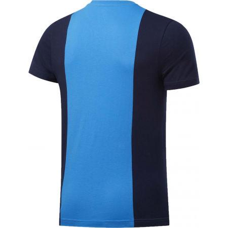 Men's T-Shirt - Reebok TE LL SS BLOCKED TEE - 2