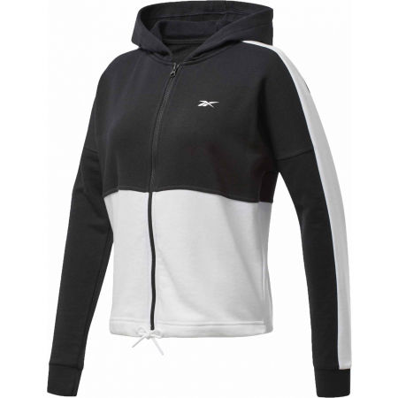 Reebok TE LINEAR LOGO FT FULLZIP - Women's sweatshirt