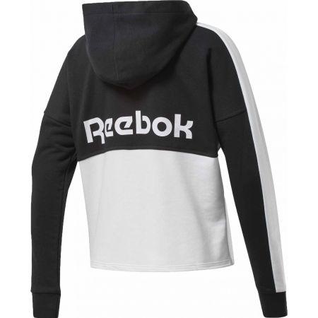 Women's sweatshirt - Reebok TE LINEAR LOGO FT FULLZIP - 2