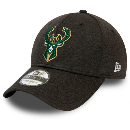 New Era 39THIRTY NBA BASE TEAM MILWAUKEE BUCKS - Klubowa czapka z daszkiem