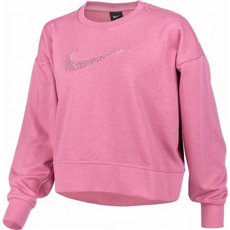 Women's workout sweatshirt - Nike DRY GET FIT CREW SWSH W - 2