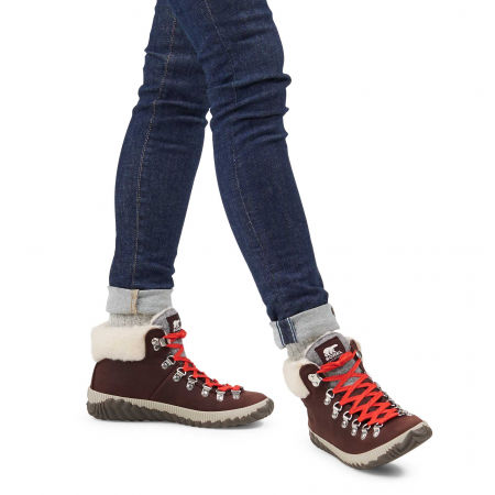 Women's winter footwear - Sorel OUT N ABOUT PLUS CONQUES - 7