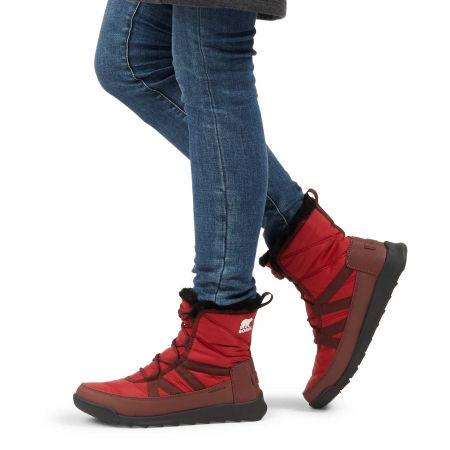 Women's winter shoes - Sorel WHITNEY II SHORT LACE FU - 7
