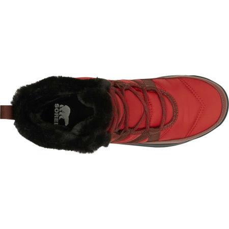 Women's winter shoes - Sorel WHITNEY II SHORT LACE FU - 4