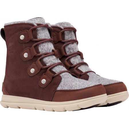 Women's winter shoes - Sorel EXPLORER JOAN FELT - 3