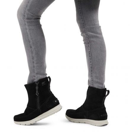 Women's winter shoes - Sorel EXPLORER ZIP - 6