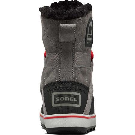 Women's winter footwear - Sorel GLACY EXPLORER SHORTIE - 6