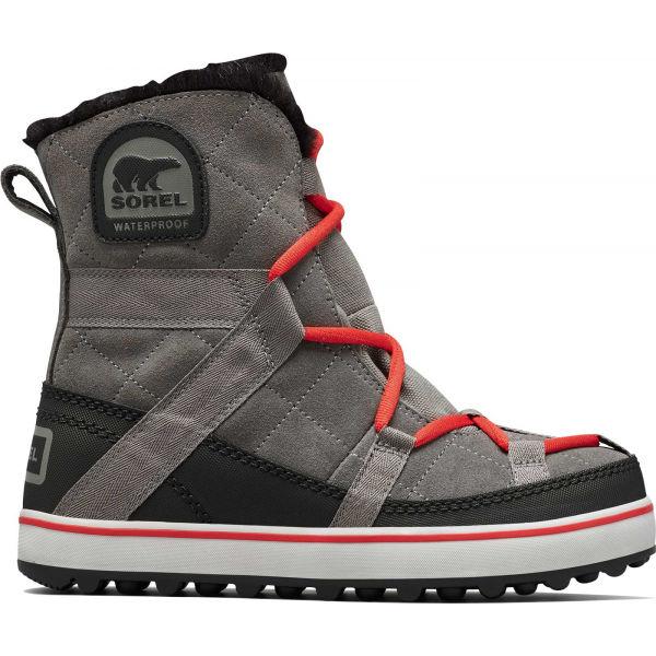 Sorel GLACY EXPLORER SHORTIE sivá 6 - Dámska zimná obuv