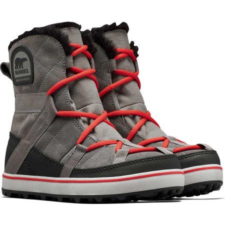 Women's winter footwear - Sorel GLACY EXPLORER SHORTIE - 3