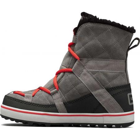 Women's winter footwear - Sorel GLACY EXPLORER SHORTIE - 2
