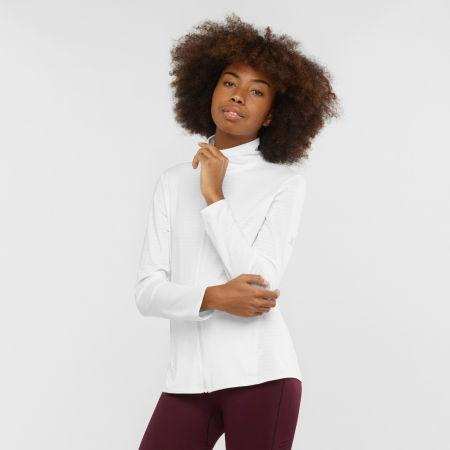 Női pulóver - Salomon OUTRACK FULL ZIP W - 2