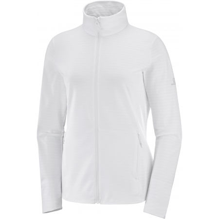 Women's sweatshirt - Salomon OUTRACK FULL ZIP W - 1