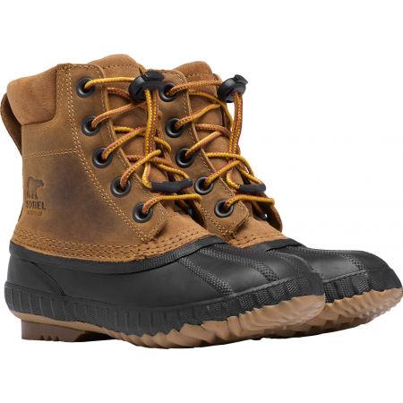 Chlapčenská zimná obuv - Sorel YOUTH CHEYANNE II VEG - 3