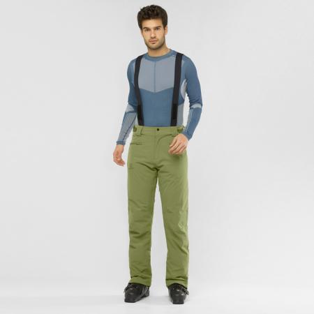 Pánské lyžařské kalhoty - Salomon STANCE PANT M - 2