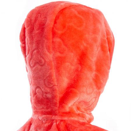 Dievčenská plyšová mikina - Klimatex BATTY - 5