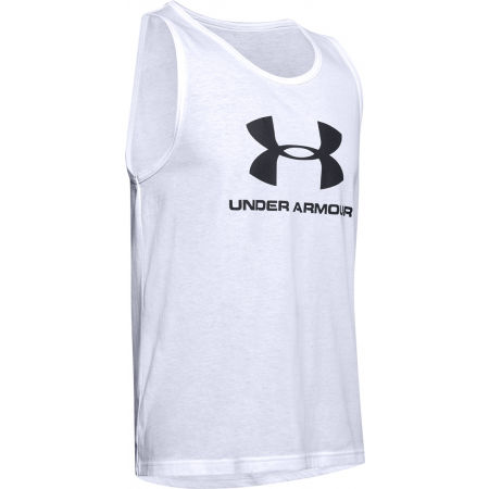 Under Armour SPORTSTYLE LOGO TANK - Pánské tílko-Under Armour