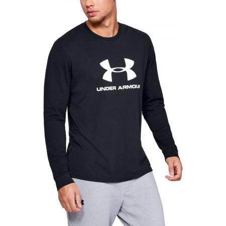 Men's T-Shirt - Under Armour UA SPORTSTYLE LOGO LS - 3