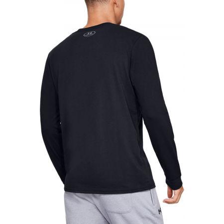 Men's T-Shirt - Under Armour UA SPORTSTYLE LOGO LS - 4
