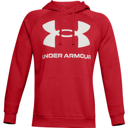 Pánska mikina - Under Armour RIVAL FLEECE BIG LOGO HD - 1