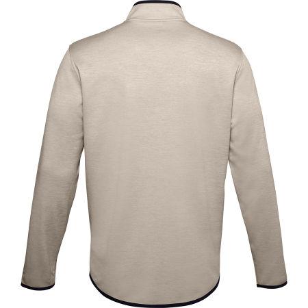 Men's long sleeve T-shirt - Under Armour ARMOUR FLEECE 1/2 ZIP - 2