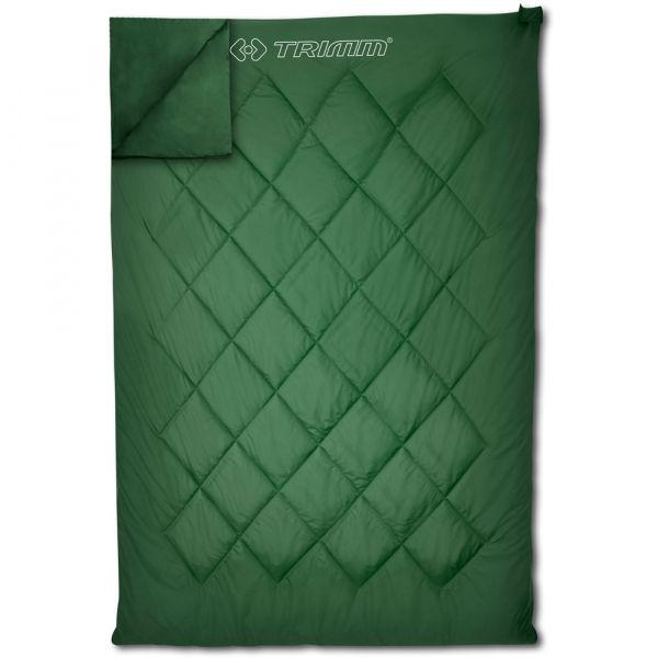 TRIMM TWIN zelená 195P - Spací pytel