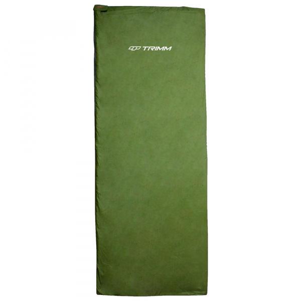 TRIMM RELAX zelená Dekový spací vak 185p Trimm
