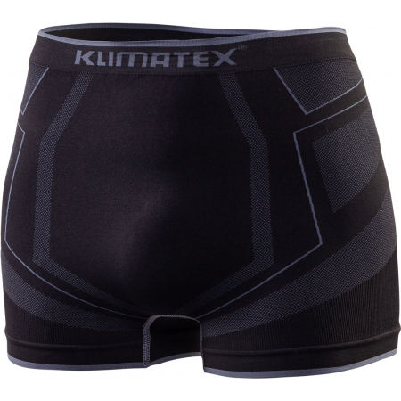 Men's functional seamless boxer shorts - Klimatex ANDRIS - 1