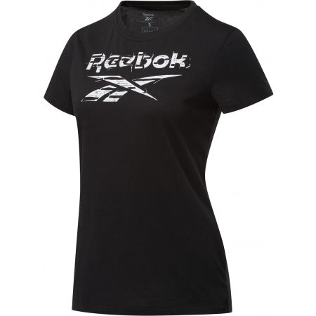 Reebok TE GRAPHIC TEE STACK LOGO - Women's T-shirt