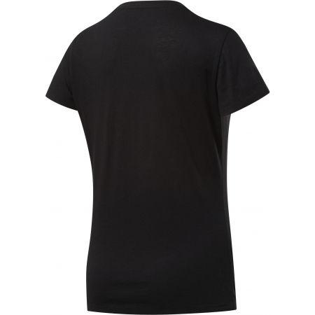 Дамска тениска - Reebok TE GRAPHIC TEE STACK LOGO - 2